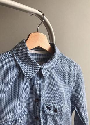 Хлопковая рубашка от abercrombie&fitch