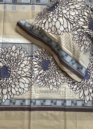 Двухспальный евро  комплект постельного белья из бязь голд пакистан