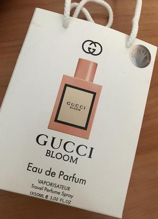 Парфюм gucci bloom 50ml в подарочной упаковке
