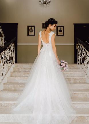 Свадебное платье, бренд pollardi