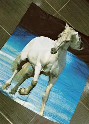 "Наволочка ""белая лошадь"""