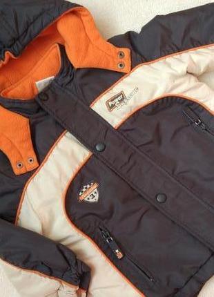Демисезонная еврозима куртка курточка papagino на рост 80 см