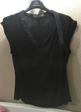 Майка, блуза с ассиметричный вырезом karen millen