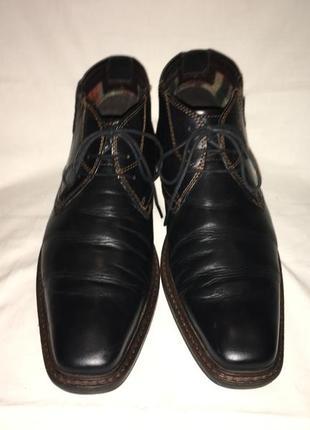 Ботинки * bugatti* кожа германия р.44 (29.00см)