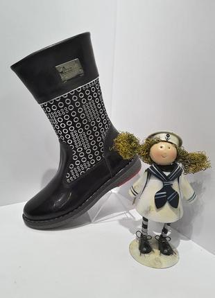 Ботинки сапоги весна осень для девочки tifflani кожа скидки !!! размер 27