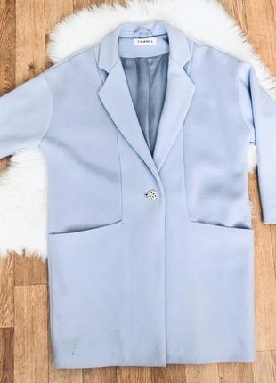 Шикарное пальто chanel