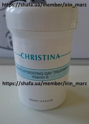 Christina delicate увлажняющий дневной крем с витамином е для сухой чувствительной кожи