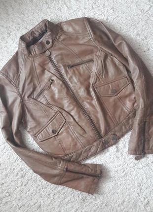 Куртка кожаная t.a.l.c