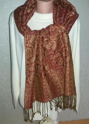Красивый шарф/палантин.