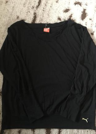 Спортивный  свитерок-футболка  широкие манжеты с логотипами