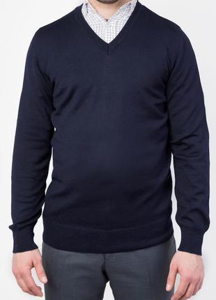 Джемпер, свитер, базовый , классический вариант tm voronin , шерсть меринос ххл