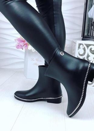 37-41. ботинки резиновые от дождя