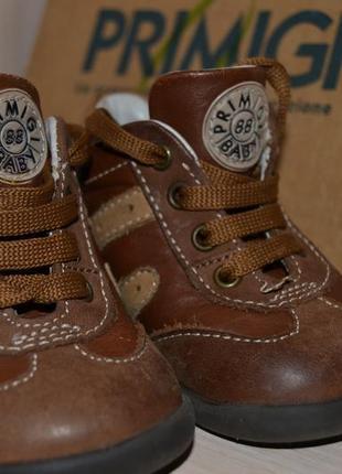 Супер цена!ботинки primigi демисезон, натуральная кожа и нубук. 18р. италия