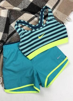 Женские спортивные беговые шорты nike dri-fit running original s как новые короткие