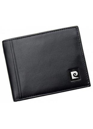 Мужское портмоне из натуральной кожи pierre cardin 325-tilak08 black
