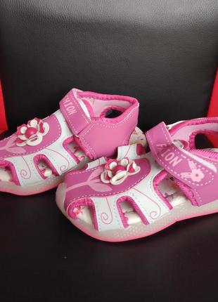Летние босоножки сандалии на девочку шалунишка с супинатором 20-25 размер
