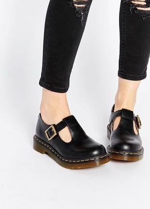 Шикарные стильные туфли dr.martens