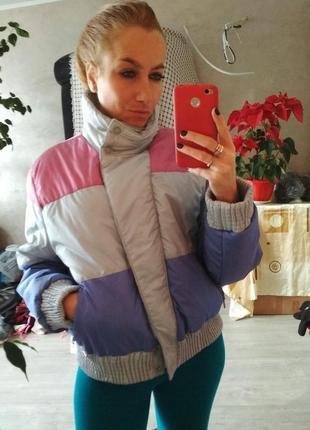 Крутая зимняя курточка, состояние новой рр м