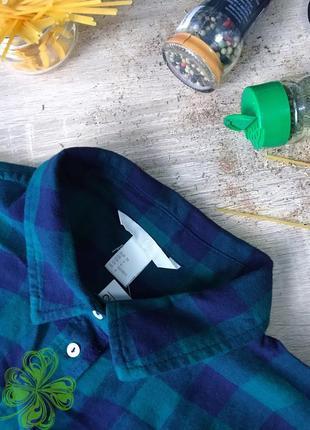 Хлопкова рубашка h&m2