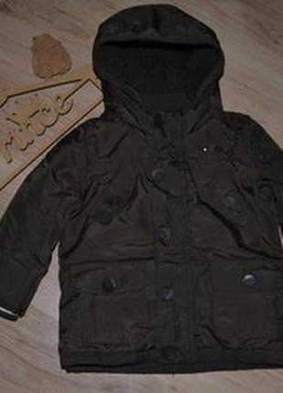Курточка мальчику f&f 2-3г холодная осень весна