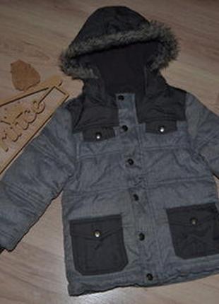 Курточка f&f 4-5л сост отл хол осень/зима