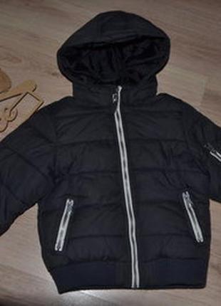 Деми курточка холодная осень h&m