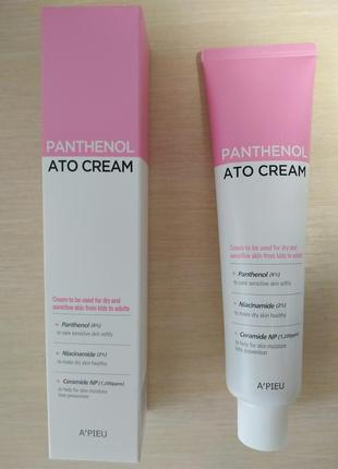 Увлажняющий крем для сухой и чувствительной кожи a'pieu panthenol ato cream / 120 ml