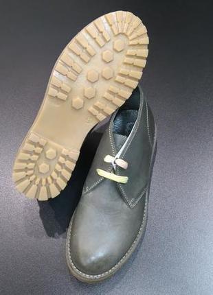 Ботинки дезерты, высокие кожаные туфли итальянской компании colpatuа, р. 31 (20,0 см.)3