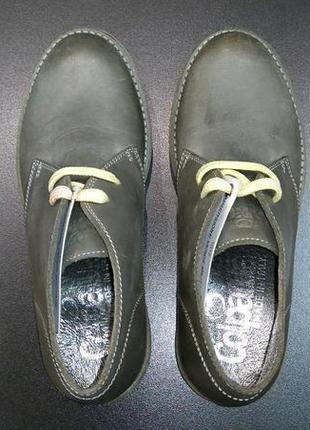 Ботинки дезерты, высокие кожаные туфли итальянской компании colpatuа, р. 31 (20,0 см.)5
