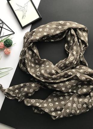 Шикарный шарф / платок луи виттон louis vuitton