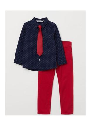 Новый костюм в горошек для мальчика, h&m, 0666694