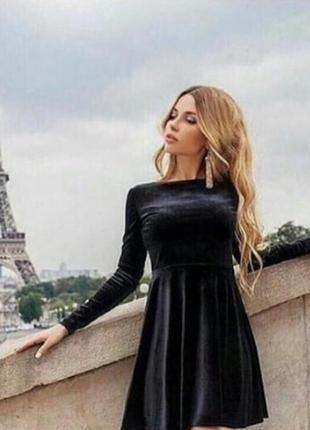 Женские бархатные платья 2019 - купить недорого вещи в интернет ... 10cff0c946291