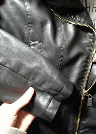 Кожаная куртка5 фото