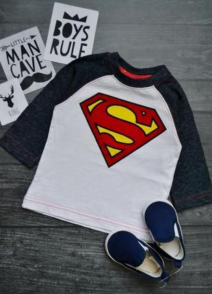 Водолазка superman 3-6 месяцев next