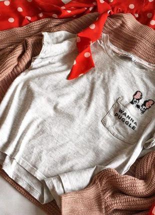 Класна  вкорочена футболка fbsister s/36