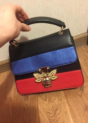 Сумочка сумка клатч  gucci
