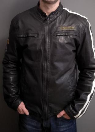 Шкіряна куртка aviatrix/l
