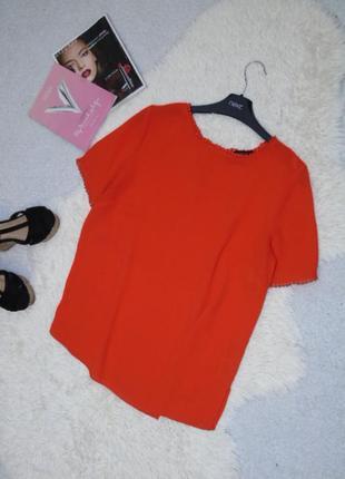 Яркая блузочка 12 размера dorothy perkins