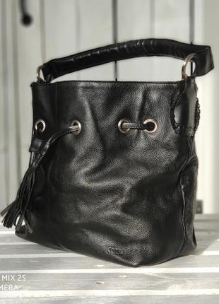 Jones the bootmaker 100% оригинальная дорогая крутая  английская кожаная сумка