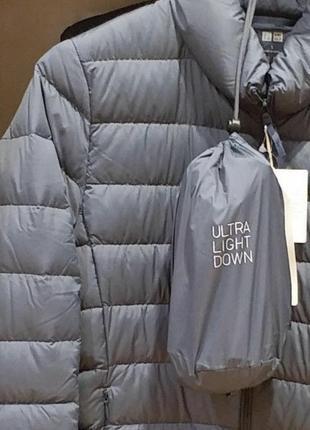 Uniqlo down ultralight пуховик ультралегкий сверхлегкий