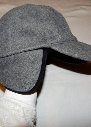 Теплая кепка, бейсболка, ог 58 см, фуражка