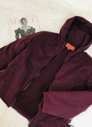 Утепленная весенняя курточка