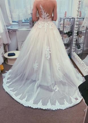 Свадебное платье «женева»
