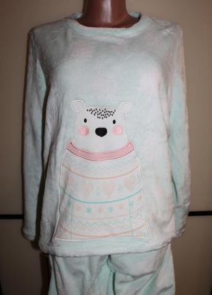 Плюшевая пижама , домашний костюм george. р. uk 16-18. eur 44-46, на 50-52