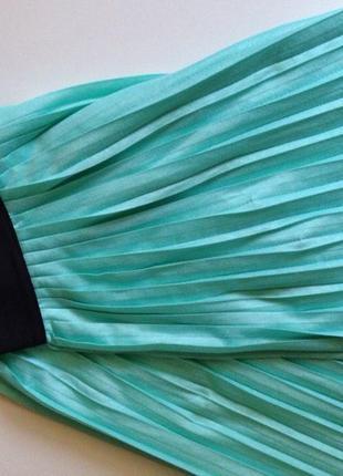 Новая мятная юбка house