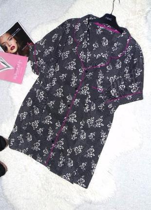 Котоновая пижамная кофточка 24 размера