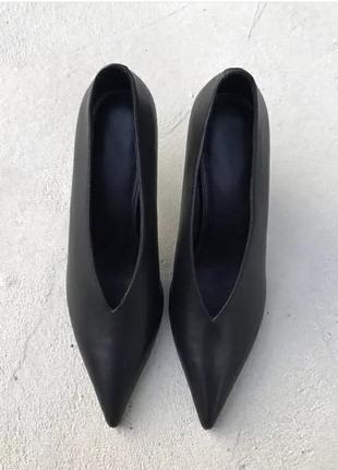 Лодочки на каблуке4 фото