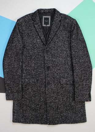 Оригинальное пальто в крутом текстурном цвете от new look men