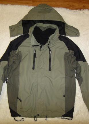 Термо куртка multitex с флисовой кофтой р. 48-50 (м) хаки