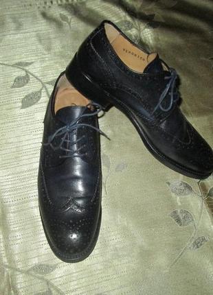 Кожаные туфли cordvainer оксфорды броги ручной работы